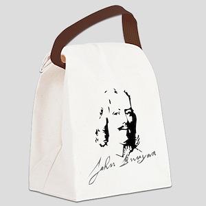 John Bunyan Portrait with Signature Canvas Lunch B