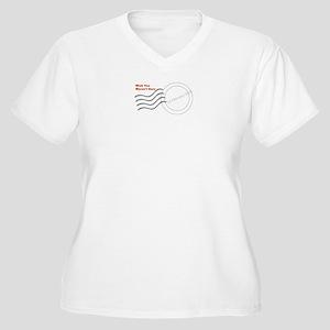 Wish You Weren't Here Plus Size T-Shirt