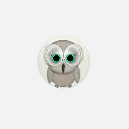 Cool Owl Mini Button (10 pack)