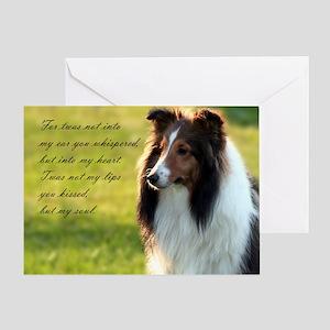 Heart & Soul Sheltie Card