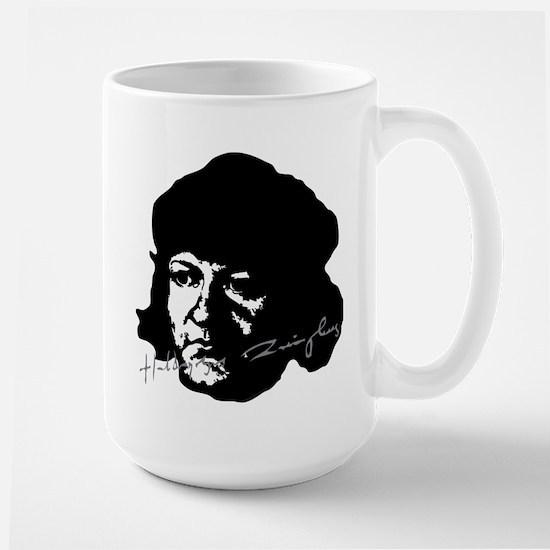 Ulrich Zwingli Portrait With Signature Mugs
