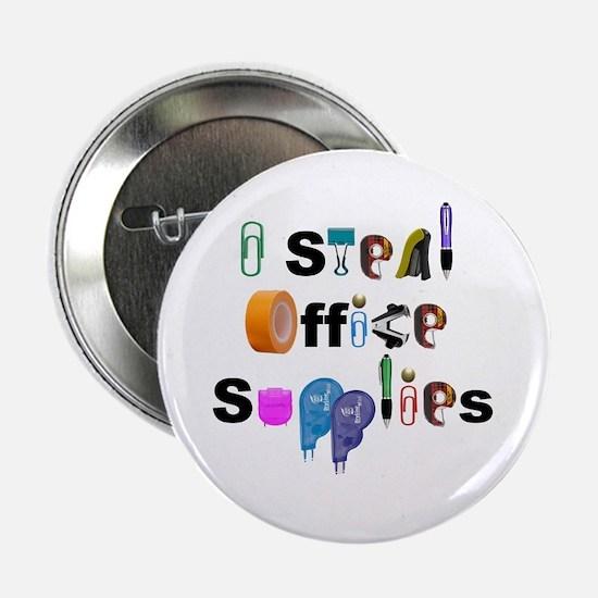 """Office Supplies 2.25"""" Button"""
