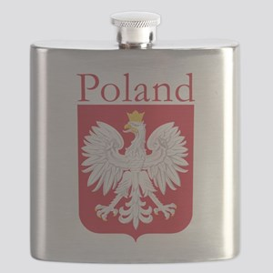 Poland White Eagle Flask
