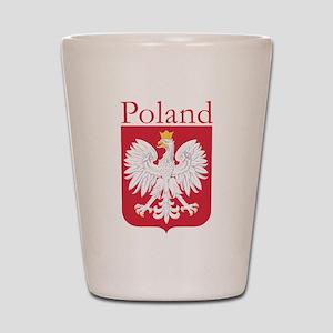 Poland White Eagle Shot Glass