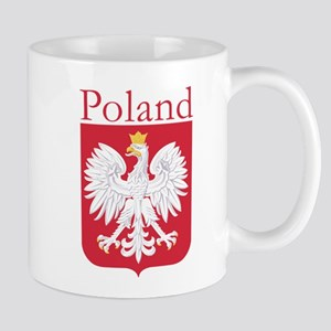 Poland White Eagle 11 oz Ceramic Mug