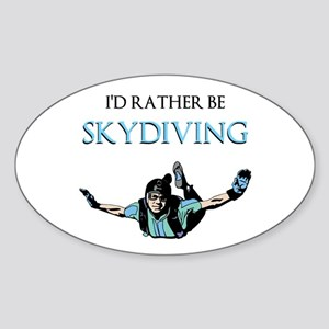 Rather Be Sky Divin... Sticker