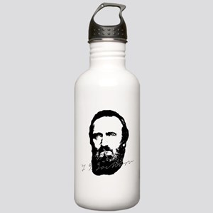 Stonewall Jackson Portrait with Signature Water Bo