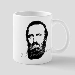 Stonewall Jackson Portrait With Signature Mugs