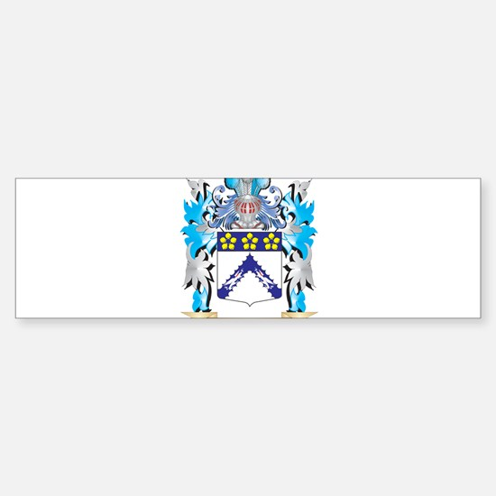 Toma Coat of Arms - Family Crest Bumper Car Car Sticker