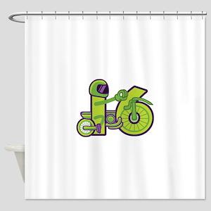 4x4=16 Shower Curtain