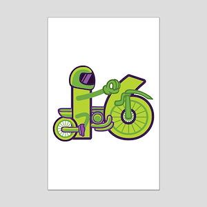 4x4=16 Posters Mini Poster Print