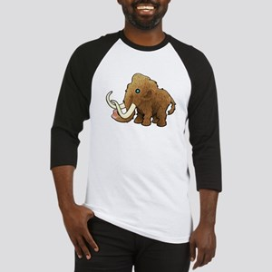 Shaggy Blue Eyed Wooly Mammoth Baseball Jersey