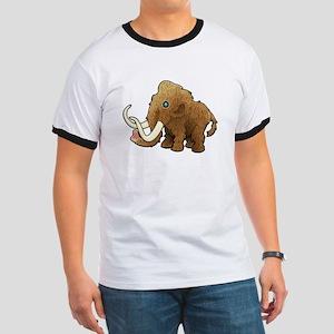 Shaggy Blue Eyed Wooly Mammoth T-Shirt
