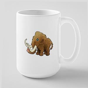 Shaggy Blue Eyed Wooly Mammoth Mugs