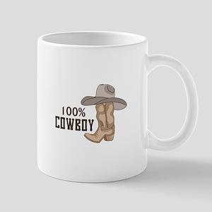 100% COWBOY Mugs