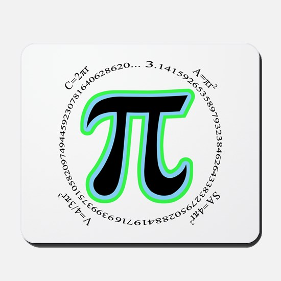 Pi Design Mousepad