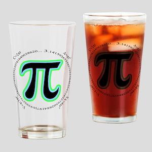 Pi Design Drinking Glass