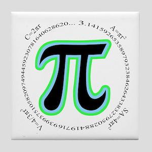 Pi Design Tile Coaster