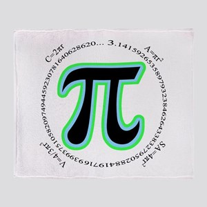 Pi Design Throw Blanket