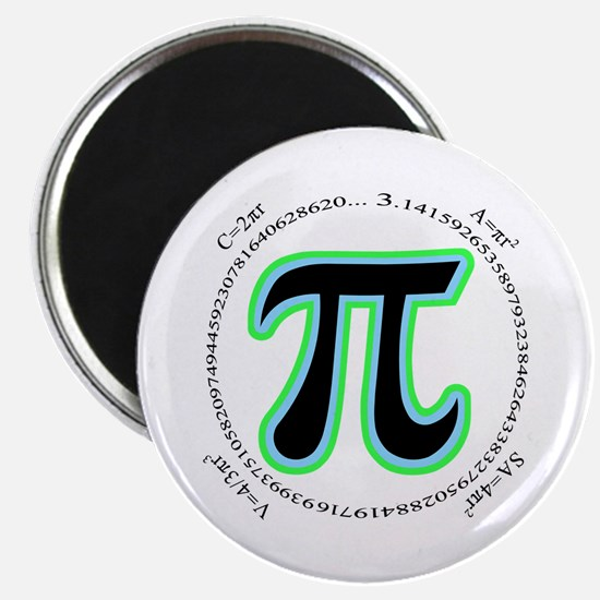 "Pi Design 2.25"" Magnet (10 pack)"