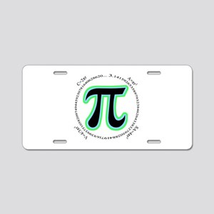 Pi Design Aluminum License Plate