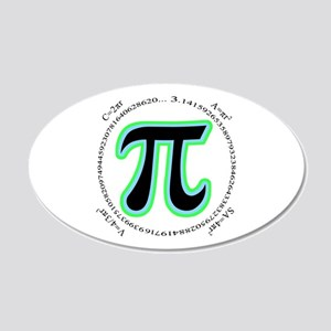Pi Design 20x12 Oval Wall Decal