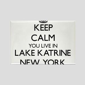 Keep calm you live in Lake Katrine New Yor Magnets