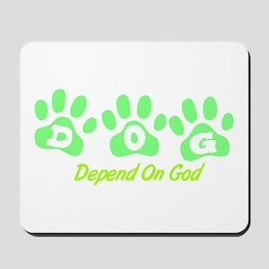 Mint DOG Mousepad