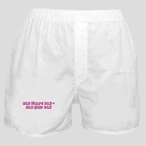 Flaring Boxer Shorts