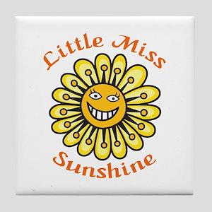 LITTLE MISS SUNSHINE Tile Coaster