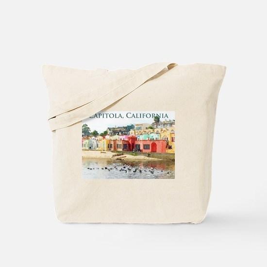 Capitola, California Tote Bag