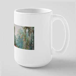 antique vintage garden painting Mugs