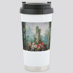 antique vintage garden Stainless Steel Travel Mug