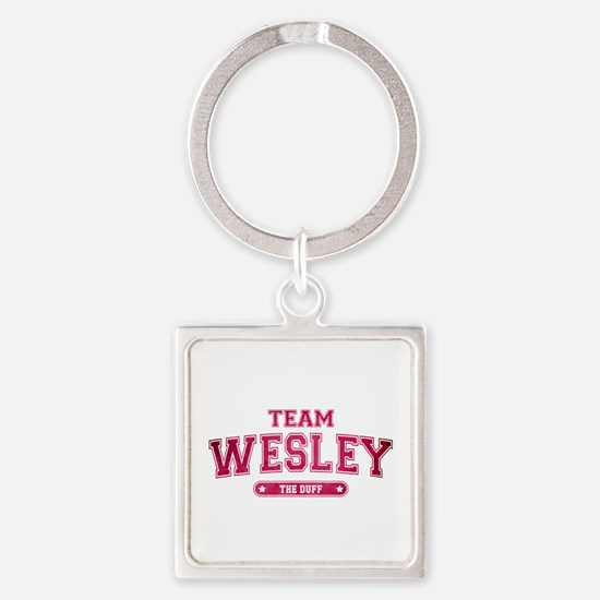 The Duff - Team Wesley Square Keychain