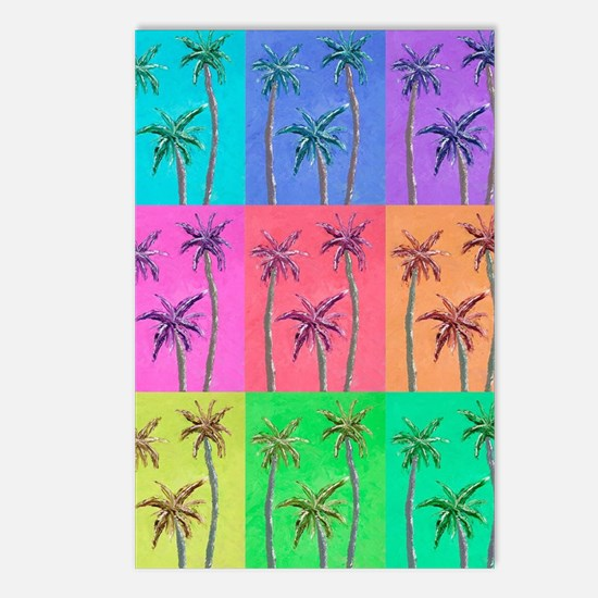 Palm Trees Postcards (Package of 8)