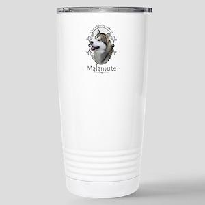Life's Better Malamute Travel Mug