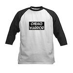 'Chemo Warrior' Kids Baseball Jersey