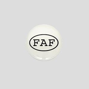 FAF Oval Mini Button