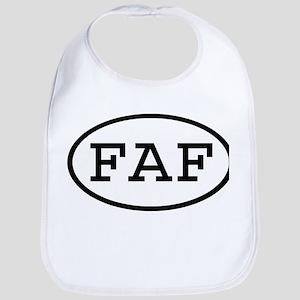 FAF Oval Bib