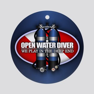 Open Water (Tanks) Ornament (Round)