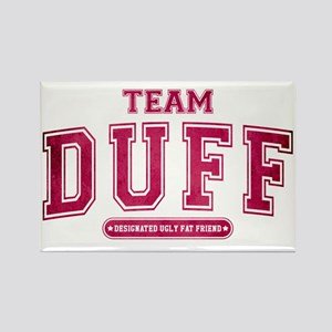 Pink Team Duff Rectangle Magnet