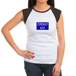 'Chemo Kid' Women's Cap Sleeve T-Shirt