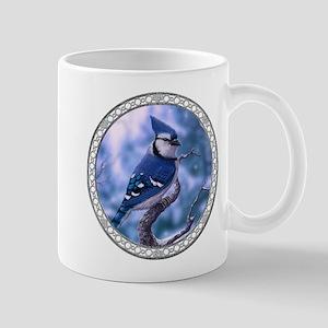 Blue Jay Bird Mug Mugs