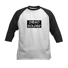 'Chemo Soldier' Kids Baseball Jersey