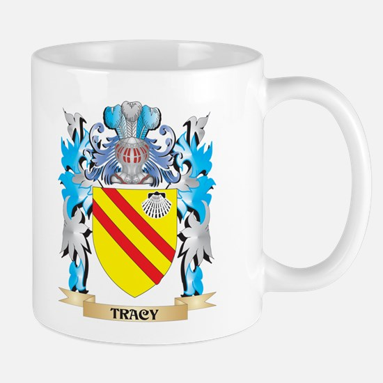 Tracy Coat of Arms - Family Crest Mugs
