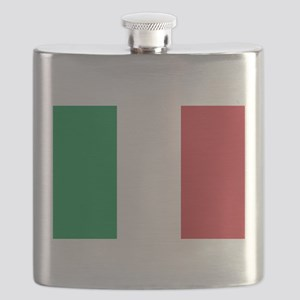 Italian Flag Flask