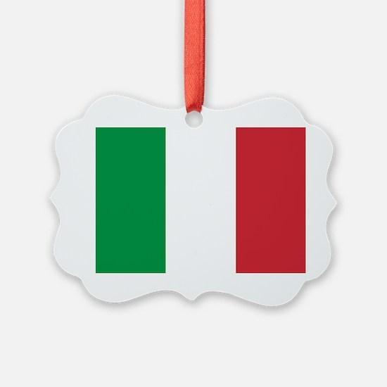 Italian Flag Ornament