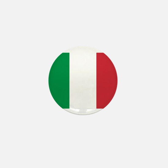 Italian Flag Mini Button
