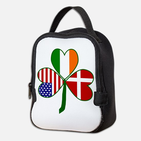 Danish Shamrock Neoprene Lunch Bag