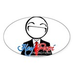 Hey Papi Promotions Network Logo Sticker